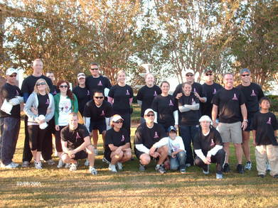 Breast Cancer 5k Team T-Shirt Photo