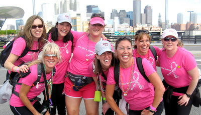 Avon Walk For Breast Cancer, Boston T-Shirt Photo