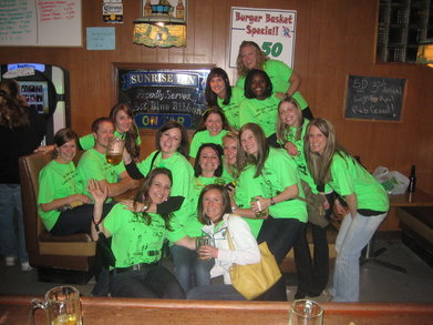 Nurses Night Out: 3rd Annual Light Rail Pub Crawl 2010 T-Shirt Photo
