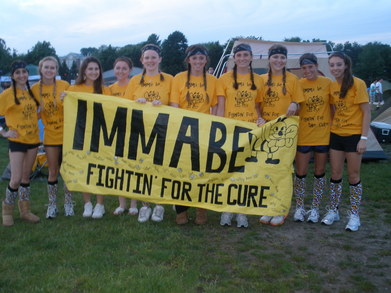 Imma Be Fightin' For The Cure T-Shirt Photo