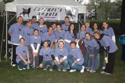 Ferrari's Angels At The Life Without Lupus Walk 2006 T-Shirt Photo