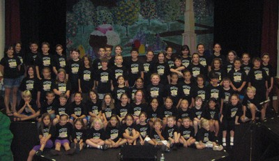 Cast Of Willy Wonka Jr. T-Shirt Photo