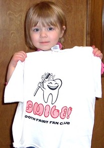 Tooth Fairy Fan Club Winner T-Shirt Photo