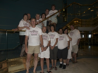 Beverly's 80th Birthday Cruise! T-Shirt Photo