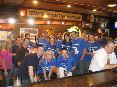 Smoke Free Bar Crawl T-Shirt Photo