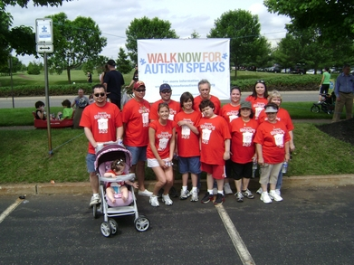 Noah's Ark   Autism Walk 2010 T-Shirt Photo