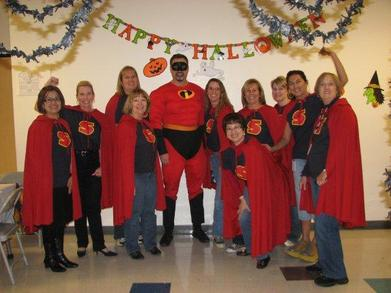 Mr Incredible And The Super Assistants T-Shirt Photo