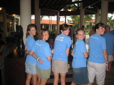 Our Wedding In Punta Cana T-Shirt Photo