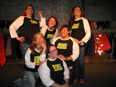 Heroine Addiction Improv Comedy Troupe T-Shirt Photo