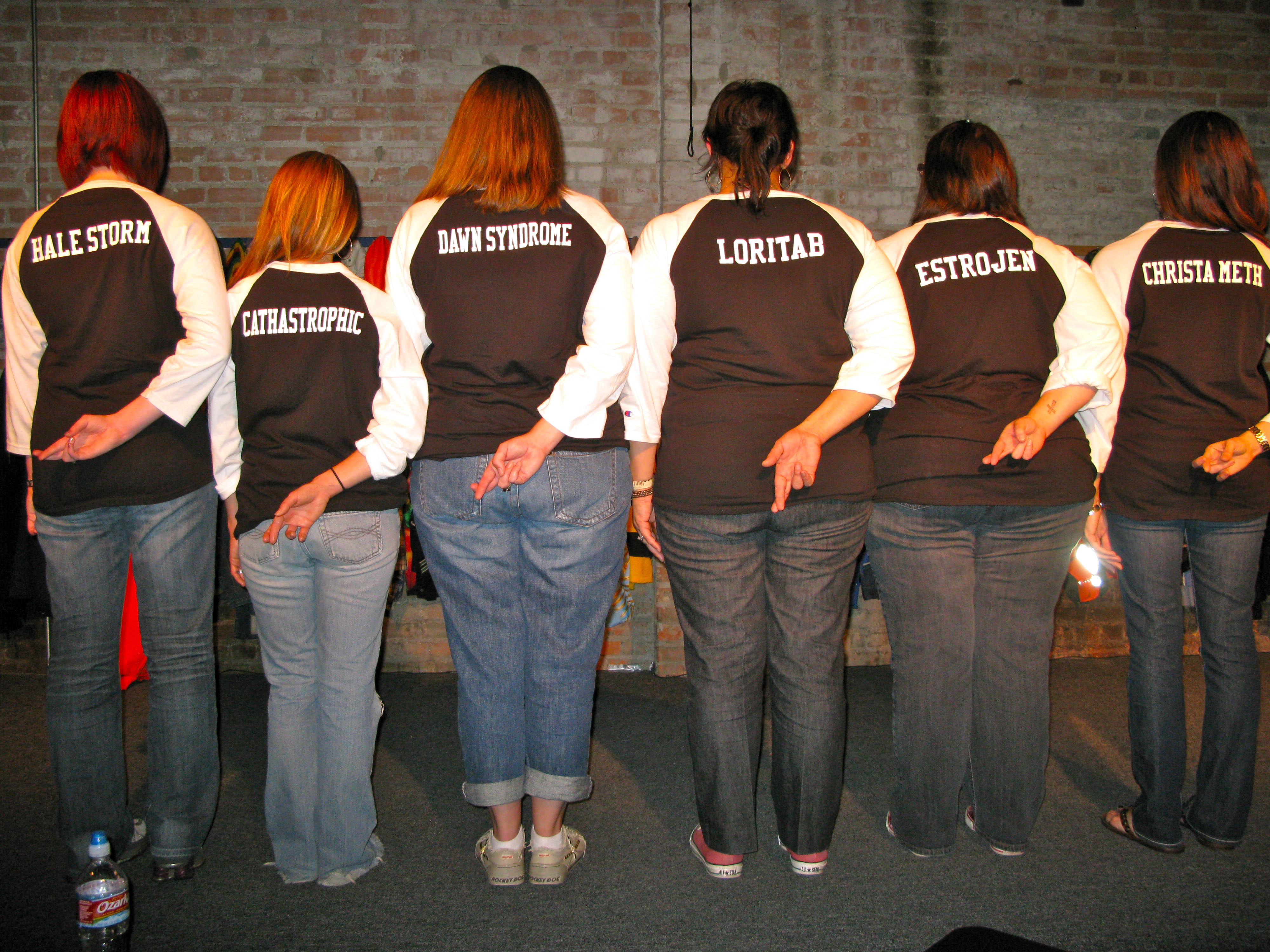 Custom T-Shirts for Heroine Addiction Improv Comedy Troupe - Shirt ...