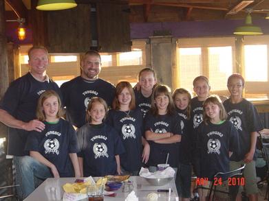 Thunder Soccer 2010 T-Shirt Photo