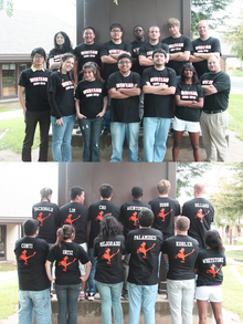 The Hard Working Folks Of The Web Team T-Shirt Photo