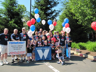 Wilton Library Memorial Day Marchers T-Shirt Photo