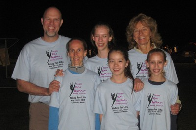Relay For Life   Team En Avant T-Shirt Photo
