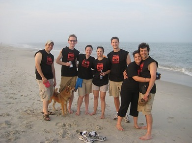 Dan's 20th Birthday On Assateague Island T-Shirt Photo