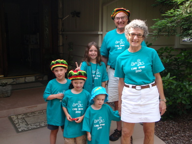 Campers Arrive T-Shirt Photo