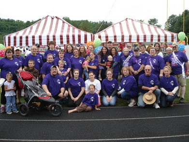 The Award Winning Relay For Life Team 2010 T-Shirt Photo