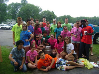 Nhs Senior Kegger! T-Shirt Photo