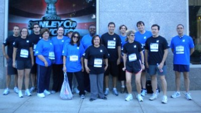 Markel Takes The Chase Corporate Challenge T-Shirt Photo