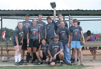 Ice Weasels Team Photo T-Shirt Photo