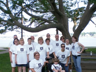 Walking For Johnny T-Shirt Photo