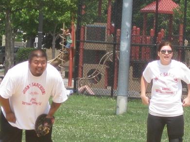 John F Sarchioni Annual Memorial Softball Tourney T-Shirt Photo