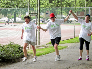 At The Finish Line Of The Summer's Here 5 K Run T-Shirt Photo