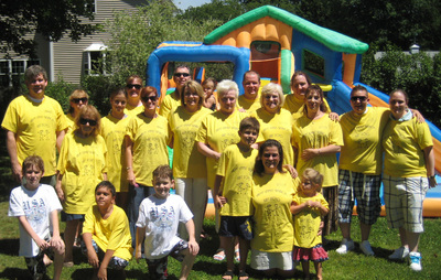 Army Family Reunion 7 3 10 T-Shirt Photo