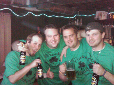 The Drunken Shillelagh T-Shirt Photo