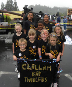 Clallam Bay Baton T-Shirt Photo