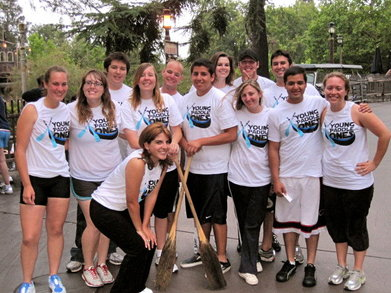 Young Paddle Ones Canoe Team T-Shirt Photo