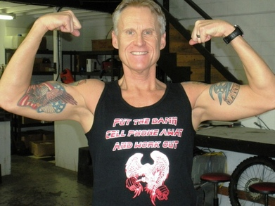 Put The Damn Cell Phone Away And Work Out T-Shirt Photo