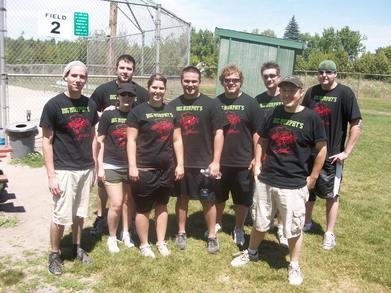 Softball 2010 T-Shirt Photo