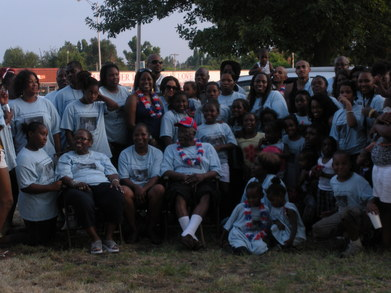 Harris Family Reunion 2010 T-Shirt Photo