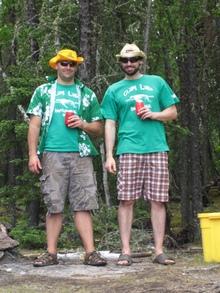 Clam Lake Invitational 2010 T-Shirt Photo