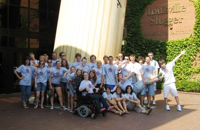 At The Louisville Slugger Museum T-Shirt Photo