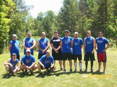 Willies Tavern Softball Team T-Shirt Photo
