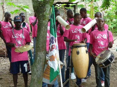 The Leya Band Of Milot In Haiti T-Shirt Photo