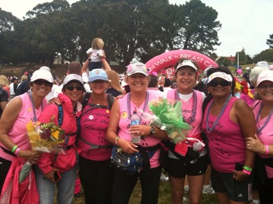 "Avon Walk Team ""Beauties And The Breast"" T-Shirt Photo"