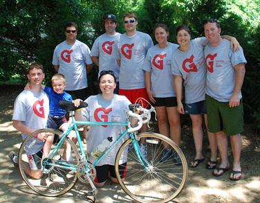 Team Fog For Tour De Cure T-Shirt Photo