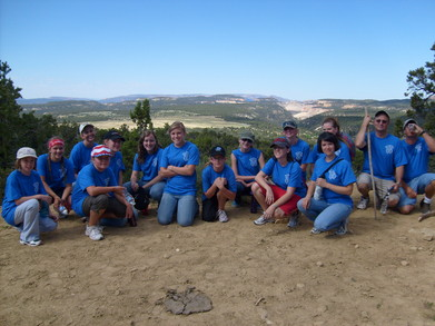 Hiking In Our Beautiful Shirts!! T-Shirt Photo