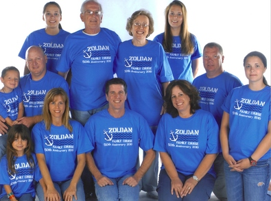 Zoldan's 50th Anniversary Cruise T-Shirt Photo