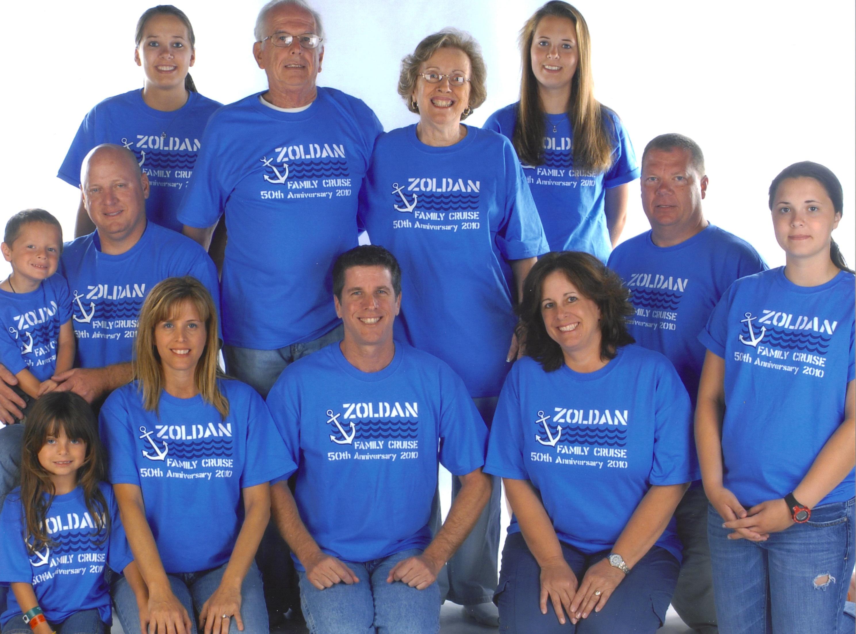 Zoldans 50th Anniversary Cruise T Shirt Photo