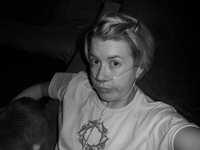 The Cystic Gal Chillin' T-Shirt Photo