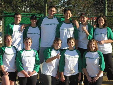 Froggy Bottoms Softball Team T-Shirt Photo