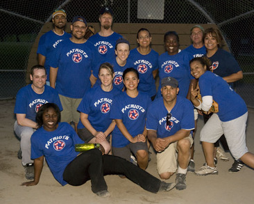 Va Patriots Softball Team T-Shirt Photo