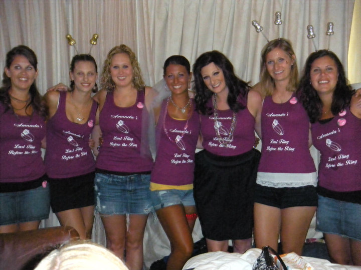 Wedding T Shirt Ideas: Custom T-Shirts For Bridesmaid With The Bride
