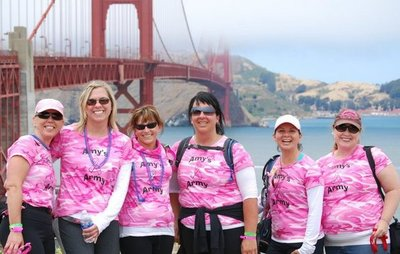 Avon Walk San Francisco 2010 T-Shirt Photo