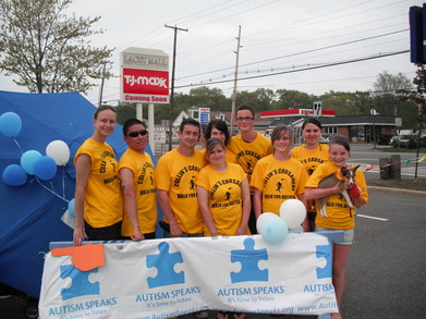 Collin's Crusaders Walk For Autism Speaks T-Shirt Photo