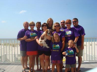 Beach 2010 T-Shirt Photo